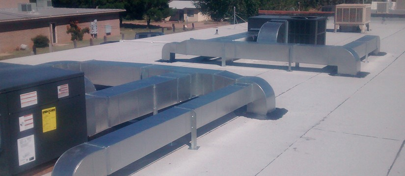 HVAC Roof-Top Installation