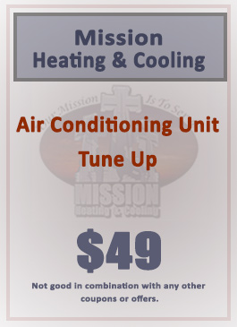 $49 Air Conditioning Unit Tune Up Special!