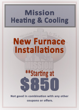 New Furnace Installation Special!