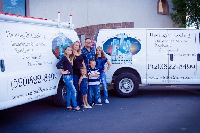 Air Conditioning And Heating Contractor Arizona Mission Cooling 520 822 8499