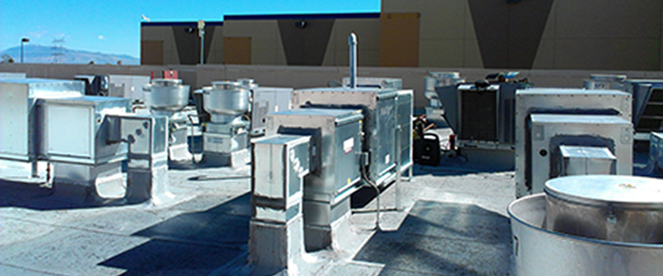 Commercial Roof Top Hvac Installation Mission Heating